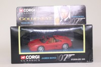 Corgi Classics 92978; James Bond: Ferrari F355; Goldeneye