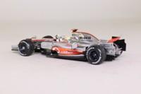 Minichamps 530 084332; McLaren Mercedes MP4-23; 2008 World Champion, Lewis Hamilton; RN22