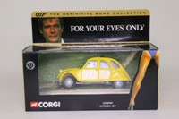 Corgi Classics CC85701; James Bond's Citroen 2CV; For Your Eyes Only