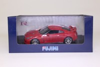 Fujimi 5213; 2011 Nissan GTR Black Edition; Red
