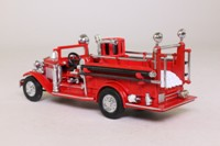 Models of Yesteryear YFE09; 1932 Ford AA Open Cab Fire Engine; Red