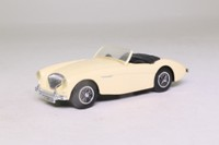 Matchbox Collectibles DYB04-M; 1956 Austin Healey 100 Sports; Open Top, Cream