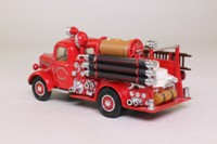 Models of Yesteryear YFE17; 1939 Bedford Pump & Hose Truck; City of Manchester Fire Brigade; Red
