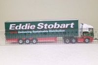 Oxford Diecast SHL01CS; Scania Highline Artic; Curtainside, Eddie Stobart