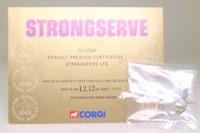 Corgi Classics CC12104; Renault Premium Artic (1:50); Curtainside, Strongserve, Queen's Golden Jubilee