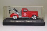 Solido 4425; 1940 Dodge Truck; Wrecker, Chicago Fire Dept, Pompiers