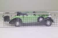 Solido 4037; 1934 Packard Eight Coupe; Open Cabriolet, Green & Black