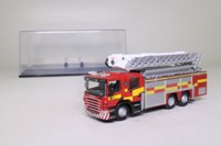 Oxford Diecast 76SAL001; Scania Aerial Rescue Pump Fire Engine; Strathclyde Fire & Rescue