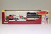 Trackside DG112008; Scammell Ballast & Low Loader; Drum Load; Red House Motor Services