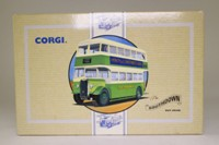 Corgi Classics 97198; Guy Arab Bus; Southdown, Geen/White: Route 37a Waterlooville