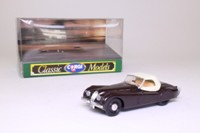 Corgi Classics 96044; Jaguar XK120; Hood Up, Maroon, White Top