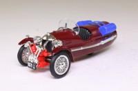 Brumm LE.4; 1935 Morgan Supersport 3 Wheeler; Dark Plum