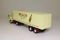 Corgi Classics 21303; AEC Ergomatic Cab; Articulated Box Trailer: Bells Scoth Whisky