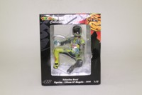 Minichamps 312 990076; 1:12 Scale Motorcycle Figure; 1999 GP 250 Mugello; Valentino Rossi