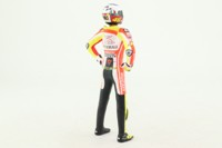 Minichamps 312 110846; 1:12 Scale Motorcycle Figure; 2011 Unveiling; Valentino Rossi