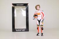 Minichamps 312 110258; 1:12 Scale Motorcycle Figure; 2011 Moto GP, Posing; Marco Simoncelli