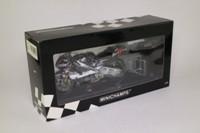 Minichamps 122 016165; Honda NSR 500 Motorcycle; 2001 GP 500; Team West Honda Pons; Loris Capirossi; RN65