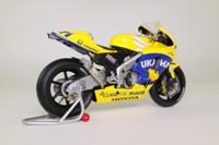 Minichamps 122 037111; Honda RC211V Motorcycle; 2003 Moto GP; Tohru Ukawa; RN11