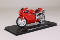 IXO; 2003 Ducati 999 Testastretta; Red, Silver Metallic