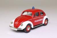 Vanguards VA12003; Volkswagen Beetle Split Screen; Red, German Fire Service (Feuerwehr)
