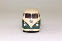 Cararama 1960 Volkswagen Transporter Van; Cream & Green