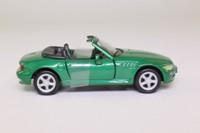 Cararama 25000; BMW Z3; Open Top, Green