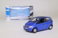 Cararama 00143; 1997 Mercedes-Benz A140; Blue Metallic
