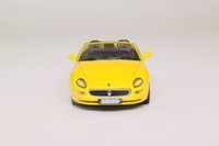 Grani & Partners; 2001 Maserati Spyder GT; Open Top, Yellow