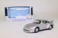 Cararama 25008; 1993 Porsche 911 GT2 (993); Metallic Silver