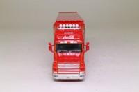 Oxford Diecast 76TCAB004CC; Scania T Cab Artic; Box Trailer, Coca-Cola, Christmas, Santa Claus
