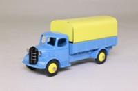 Dinky Toys 413; Austin Covered Truck; Light Blue, Cream Tilt & Hubs