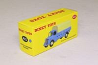 Dinky Toys 413; Austin Covered Truck; Light Blue, Cream Tilt & Hubs