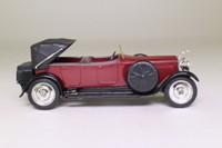 Solido 4145; 1926 Hispano Suiza Découvrable; Half-Hood, Maroon & Black