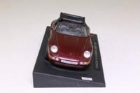 DeAgostini 1995 Porsche 911 Carrera Cabrio; Top Down; Maroon