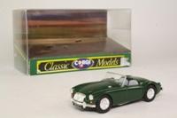 Corgi D731/1; MGA Roadster; Open Top, British Racing Green