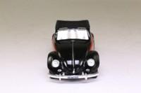 Matchbox Collectibles VEM01-M; 1949 Volkswagen Beetle Cabriolet; Open Top, Red & Black