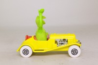 Corgi Classics CC06601; The Muppet Show, Kermit's car; Yellow, Kermit Figure
