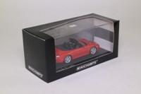 Minichamps 430 069208; 1995 Porsche 911 Turbo (993); Open Cabriolet; Arenarot Metallic; Red
