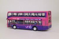 Britbus ES-003A; Scania Omnidekka / East Lancs Single Door Bus; Uno: 614 Hatfield Business Park, Gypsy Moth Avenue