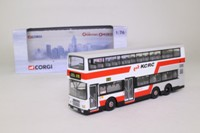 Corgi OOC 43218; Leyland/Volvo Olympian 3 Axle Bus; Kowloon Canton Railway Corp; K18 Tai Po Market Stn