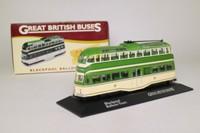 Atlas Editions 4 655 113; Blackpool Balloon Tram; Post War Livery, Fleetwood/Promenade