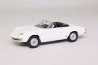 Maxi Car 10152; 1966 Alfa Romeo Spider Duetto 1600; Open Roadster; White