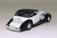 Solido 4051; 1939 Delage D8-120; Soft Top Coupe, White