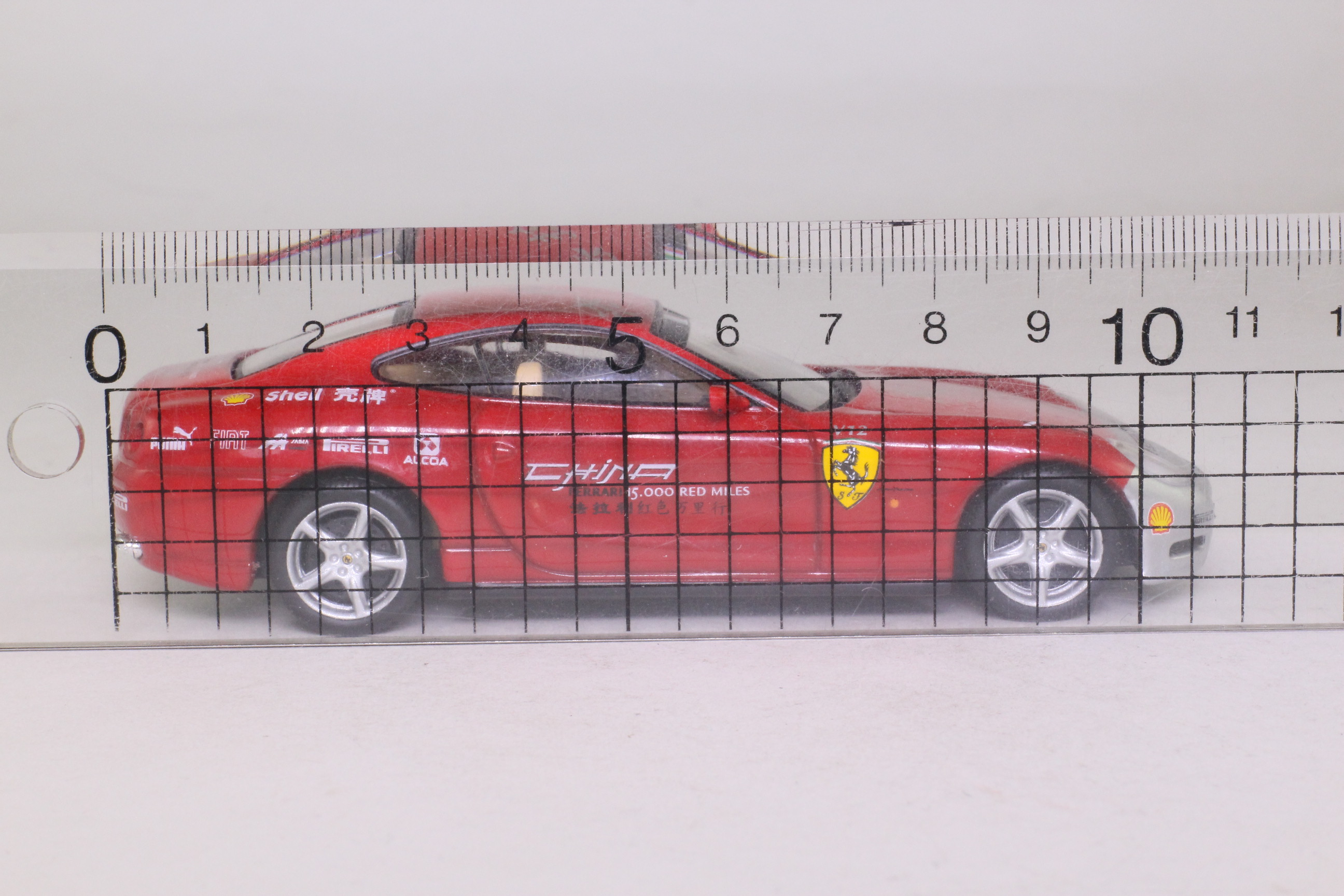 IXO FER038; 2005 Ferrari 612 Scaglietti; China Tour Car
