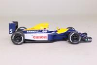 Panini; Williams FW14B; 1992 British GP 1st; Nigel Mansel; RN5
