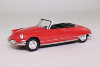 Atlas Editions; Citroen DS19; 1961, Open Cabriolet; Red