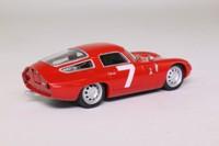 del Prado; 1964 Alfa Romeo TZ1; Red, RN7