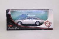 Edison Giocattoli 803921; 1967 Fiat Dino 2000 Coupe; Metallic Silver
