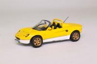 Maxi Car 10142; Lotus Elise 49; Yellow & White