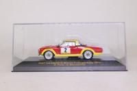 IXO RAC032; Fiat 124 Abarth; 1974 Portugal Rally 1st; Pinto & Bernacchini; RN2